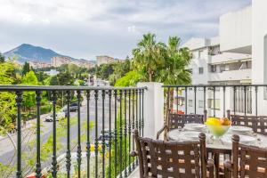 A balcony or terrace at Royal Oasis Club at Pueblo Quinta By Diamond Resorts