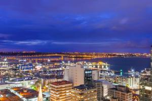 Vue panoramique sur l'établissement Barclay Suites