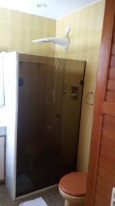 Een badkamer bij Parque Burle, Cabo Frio