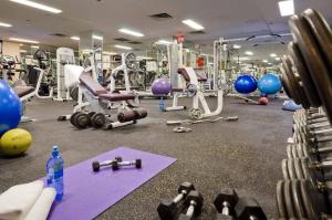 The fitness center and/or fitness facilities at La Grande Residence at the Sutton Place Hotel