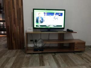 A television and/or entertainment center at Kays Residence