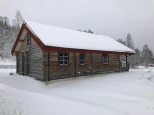 Bergsäng Stuga under vintern