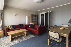 Ein Sitzbereich in der Unterkunft Apartment Valdemosa