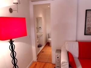 A bathroom at Charm