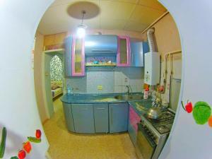 A kitchen or kitchenette at Grazhdanka