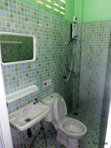 Ein Badezimmer in der Unterkunft Pek House