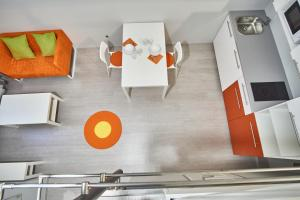 The floor plan of HILD-2 Apartments | Budapest
