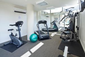 The fitness center and/or fitness facilities at Quest South Brisbane