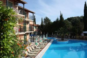 The swimming pool at or near Philippos Hotel