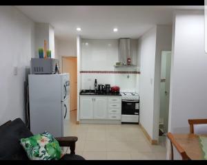 Una cocina o kitchenette en Soñadores Viajeros