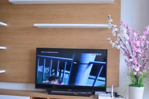 A television and/or entertainment center at Vung Tau Center Building
