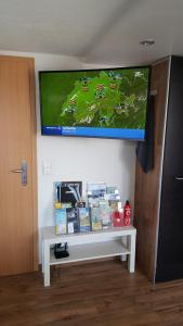 TV/Unterhaltungsangebot in der Unterkunft Ferienwohnung im Fürstenland