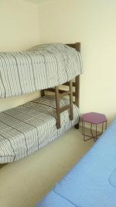 Litera o literas de una habitación en Meraki Apart Viña del Mar