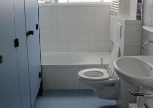 A bathroom at Vakantiehuizen Hofstede Elzenoord