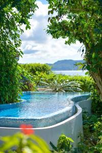The swimming pool at or near Villa Oceana Boracay