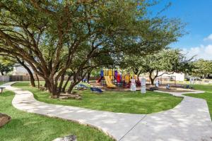 Children's play area at Westover Place