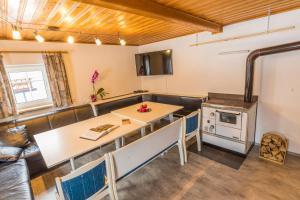 Küche/Küchenzeile in der Unterkunft Ferienhaus Hiessberger