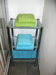 Ein Etagenbett oder Etagenbetten in einem Zimmer der Unterkunft Apartments Max