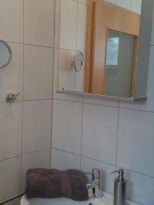 A bathroom at 30 qm in Oberreitnau