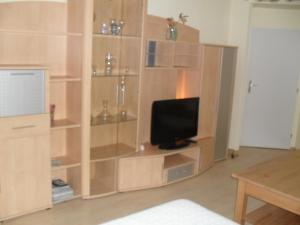 A television and/or entertainment center at Apartmány Ekaterinburg