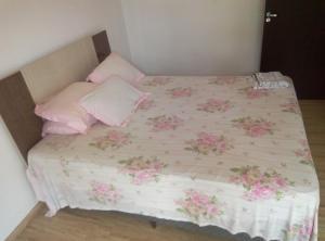 Cama o camas de una habitación en Casa de praia