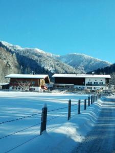 Berghof Moar during the winter