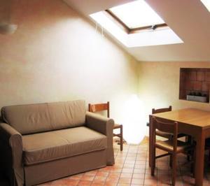 A seating area at Casa Vacanze Spino
