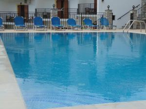 The swimming pool at or near Skiathos Diamond