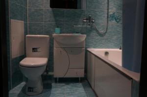 Ванная комната в Apartment on Novoselov, 48 k 3