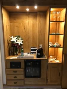 A kitchen or kitchenette at Eis Cafe Garibaldi
