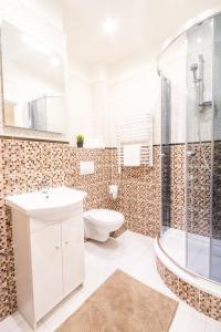 Um banheiro em Millben Apartment - Zizkov Tower