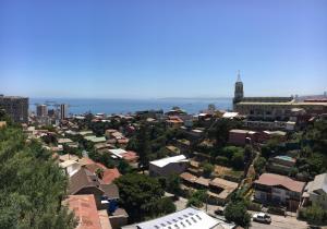 A bird's-eye view of Loft Yungay