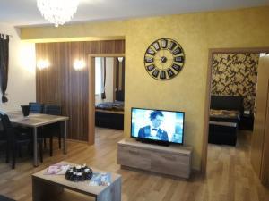 TV a/nebo společenská místnost v ubytování Apartment Villa Brezno