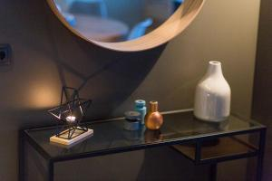 A bathroom at Acco Luxury Apartments