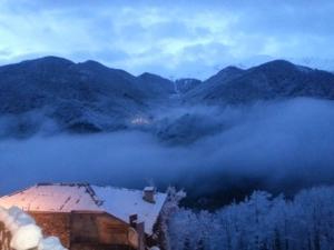 L'établissement Holiday home Orus Village en hiver