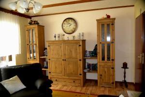 Ein Sitzbereich in der Unterkunft Haus Moser