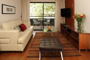 Zona de estar de Time Apartment