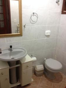Un baño de Sobrado Triplex