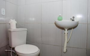 A bathroom at Casa da Cosmira