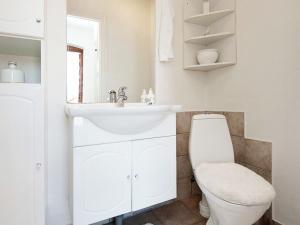 Een badkamer bij Holiday Home Sverrigsvej