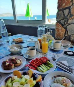 Επιλογές πρωινού για τους επισκέπτες του Eliros Studios