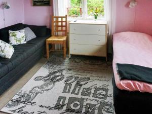 Säng eller sängar i ett rum på Holiday Home Västra V