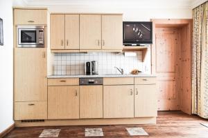 Küche/Küchenzeile in der Unterkunft Appartementhaus Unterkofler