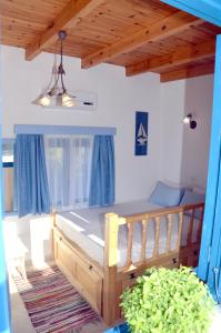 A bed or beds in a room at Villa Bellina