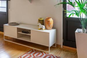 Een zitgedeelte bij Oporto Local Studios