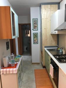 A kitchen or kitchenette at Casa Mojito o Chupito
