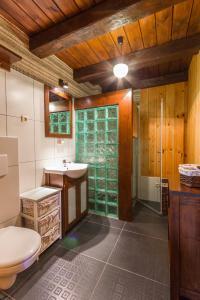 Vonios kambarys apgyvendinimo įstaigoje Stara Chata