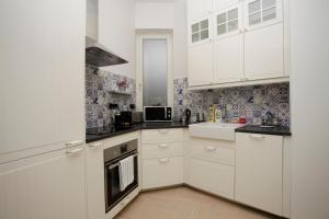 Kuchnia lub aneks kuchenny w obiekcie Luxury apartment Spálená