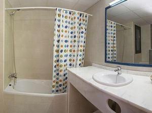A bathroom at Apartamentos San Francisco