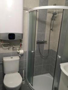 Koupelna v ubytování Apartmány Jakub - Lipno nad Vltavou